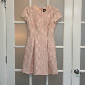 Vince Camuto Pink Cocktail Dress w/Pockets Sz 8